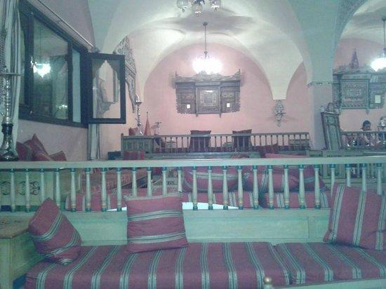 Hotel Paradis Palace: caffè moresco - c'è anche il wifi