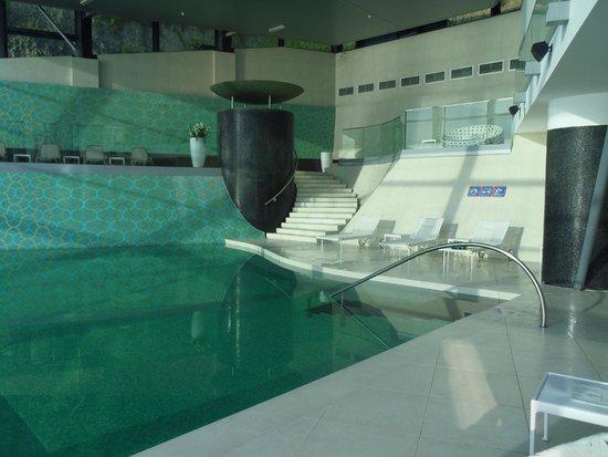 Grand Hotel Bernardin: vue de la piscine spa