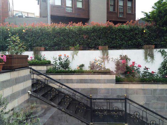 Rose Garden Suites Istanbul: Garden view