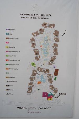 Sonesta Club : Карта отеля