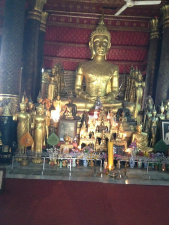 Victoria Xiengthong Palace : The  Buddhas