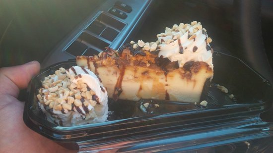 The Cheesecake Factory: Snickers Bar Chunks and Cheesecake
