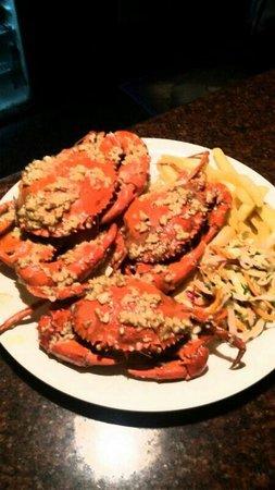 Peep Kitchen: Butter garlic crabs