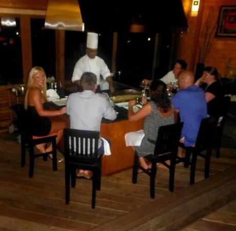 Meeru Island Resort & Spa : tapanyaki