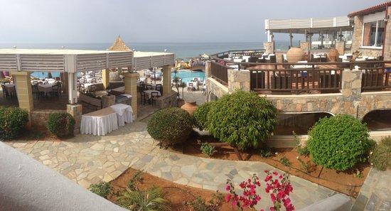 Alexander Beach Hotel & Village: Part view of the site