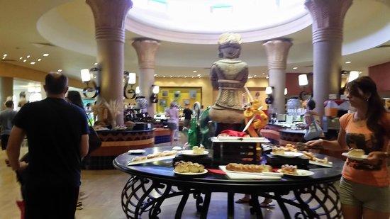 Barcelo Maya Palace: Buffet