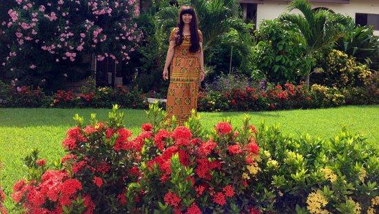 Sheridan Hotel: In the garden