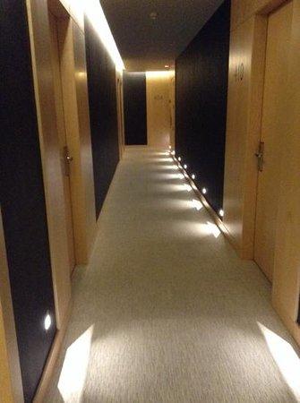 Hotel Urpi: pasillo zona nueva