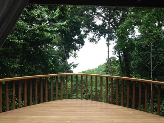 El Remanso Lodge: View from La Guinda