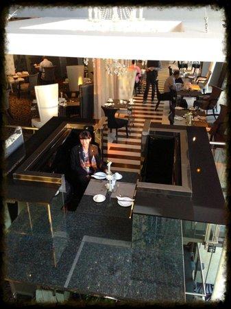 "Protea Hotel Fire & Ice! by Marriott Johannesburg Melrose Arch: Wonderful breakfast ""island"""