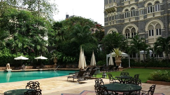 The Taj Mahal Palace: Pool