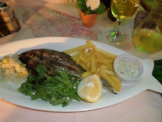 Memories: Sea bass.