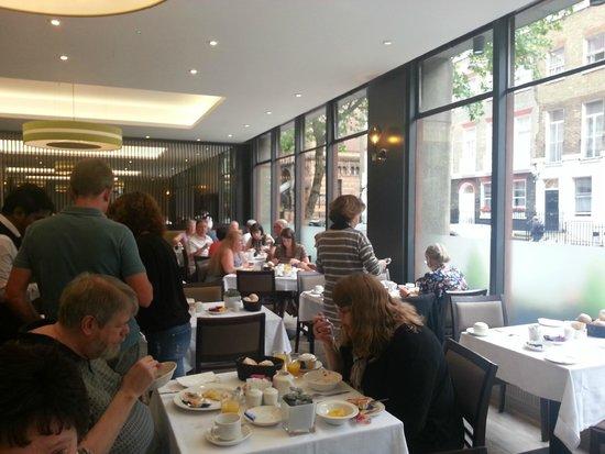 President Hotel: Dining room