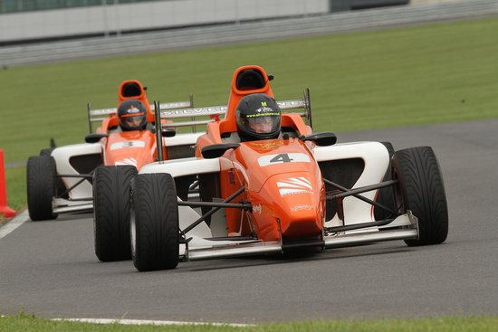 Silverstone Single Seater Experience: Single seater experience 1