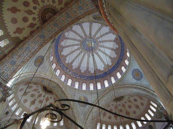 Mosquée Bleue (Sultan Ahmet Camii) : Cúpula