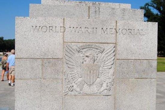 Monumento Nacional de la Segunda Guerra Mundial: 1ère plaque à l'entrée