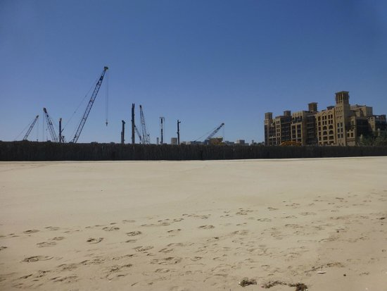 Jumeirah Dar Al Masyaf at Madinat Jumeirah: New hotel/villas going up between the Mina salam and wild wadi