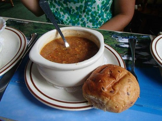 Freeport Seafood Restaurant: Fish chowder