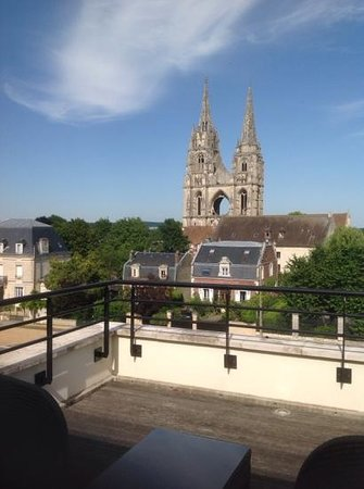 Best Western Plus Hotel Des Francs : view from terrace