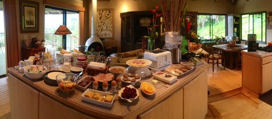 Marjorie's Kauai Inn : breakfast