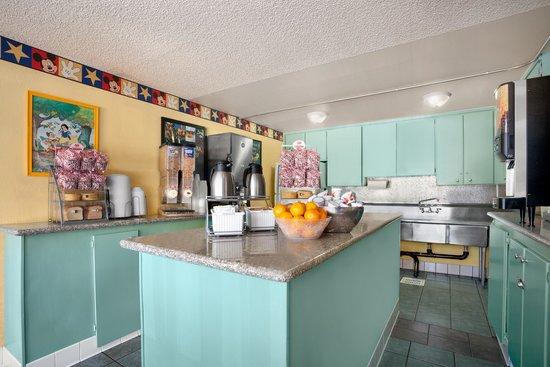 Kings Inn Anaheim: Breakfast Room