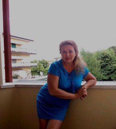 Petrarca Hotel Terme : на лоджии в номере