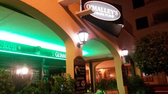 O'Malley's: O´malley´s night time