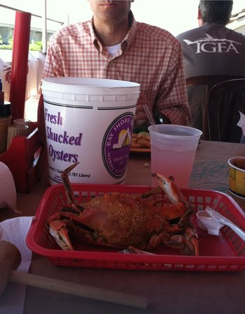 Harris Crab House: Yummy crabs