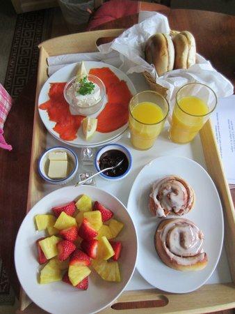 Harvey House B&B: Delicious breakfasts!