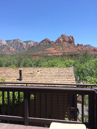 L'Auberge de Sedona: view from our balcony