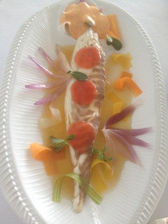 Le Petit Nice : sauce crevettes trop présente et corcé