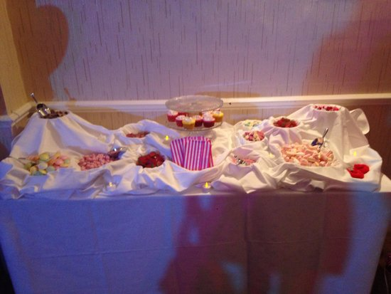 The Royal Hotel : Candy buffet