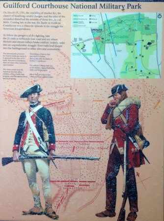 Guilford Courthouse National Military Park: War changing battle