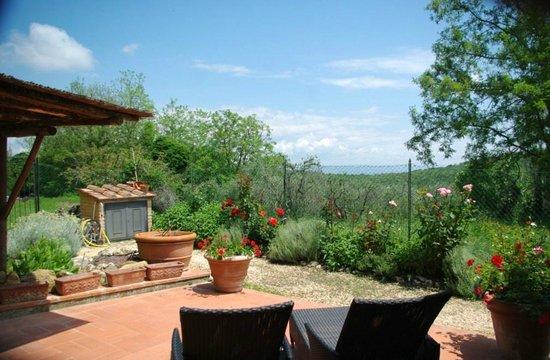 Casolare di Libbiano : View from our patio