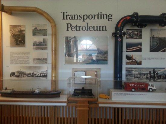California Oil Museum: informative display