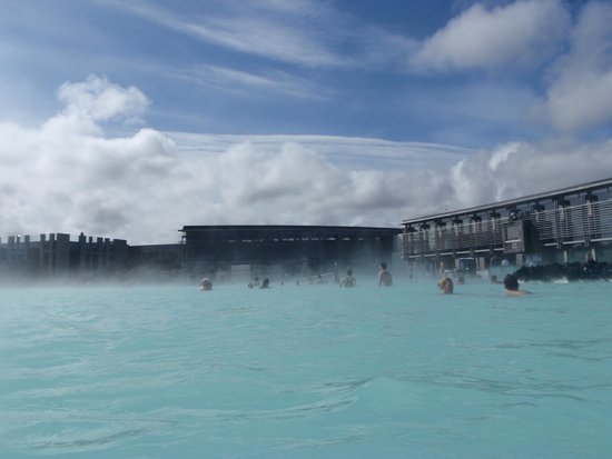 Blue Lagoon Iceland : Steaming