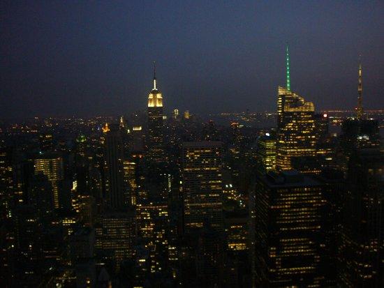 Rockefeller Center Tour: Vista noturna