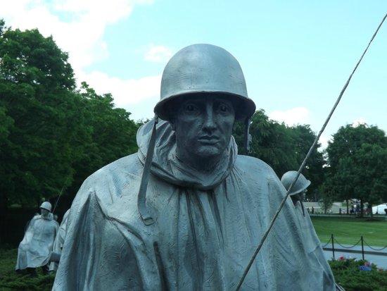 Korean War Veterans Memorial: Soldado