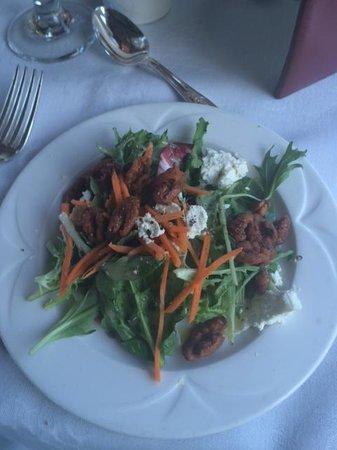 Napa Valley Wine Train: salad