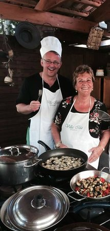 Villa Ida Cooking Lessons: A FANTASTIC experience! You won't regret it and if you do, there's something wrong with you