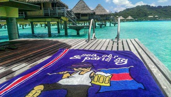 InterContinental Bora Bora Le Moana Resort: vue du bungalow