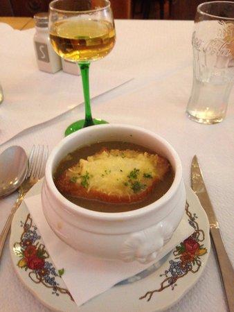 Taverne de la Cathedrale: Onion soup