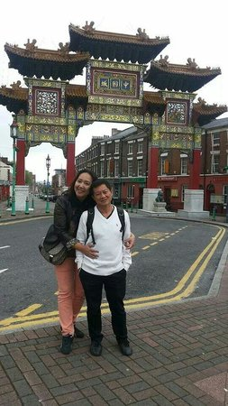 The biggest Chinatown gate in Europe!