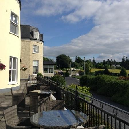 Bloomfield House Hotel, Leisure Club & Spa : les terrasses