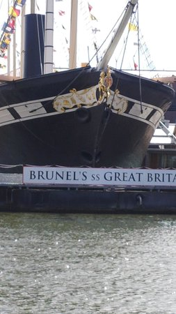 Bristol Ferry Boats : Brunel's Great Britain from baot