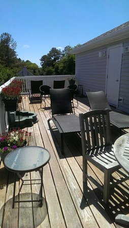 Silver Lake Guest House: Upper sun deck