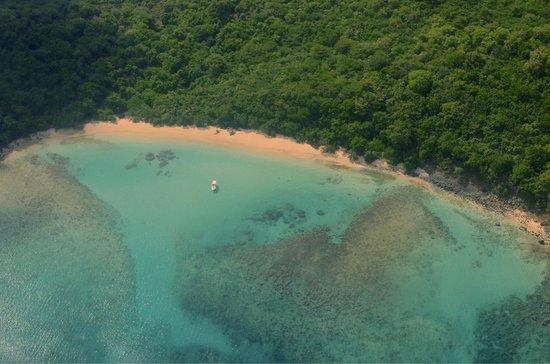 Tamarindo Beach: Tamarindo from air