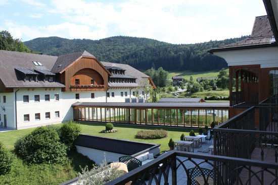 Sheraton Fuschlsee-Salzburg Hotel Jagdhof: View from our room