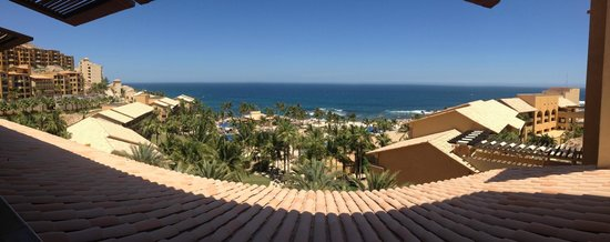 Grand Fiesta Americana Los Cabos All Inclusive Golf & Spa: view from the lobby bar