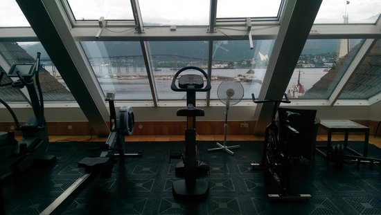 Clarion Collection Hotel With: Views from Sauna & Gym in the 6th floor
